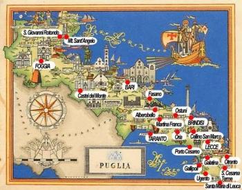 Cartina Della Puglia Turistica.Sudnews Puglia Cresce Il Turismo Estivo 2019