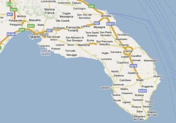 Brindisi Cartina Geografica.Sudnews Lecce Brindisi E Taranto Possibile L Accorpamento