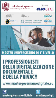 Master universitario ON LINE in Governance Digitale