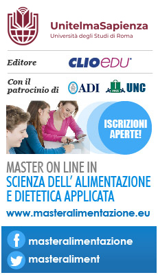Master ON LINE in Scienza dell'Alimentazione e Dietetica Applicata